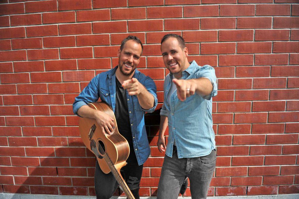 Loïc and Pascal Cougil - Selenium band members